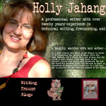 Holly Jahangiri – Mom, Writer and Blogger Extraordinaire: An Interview